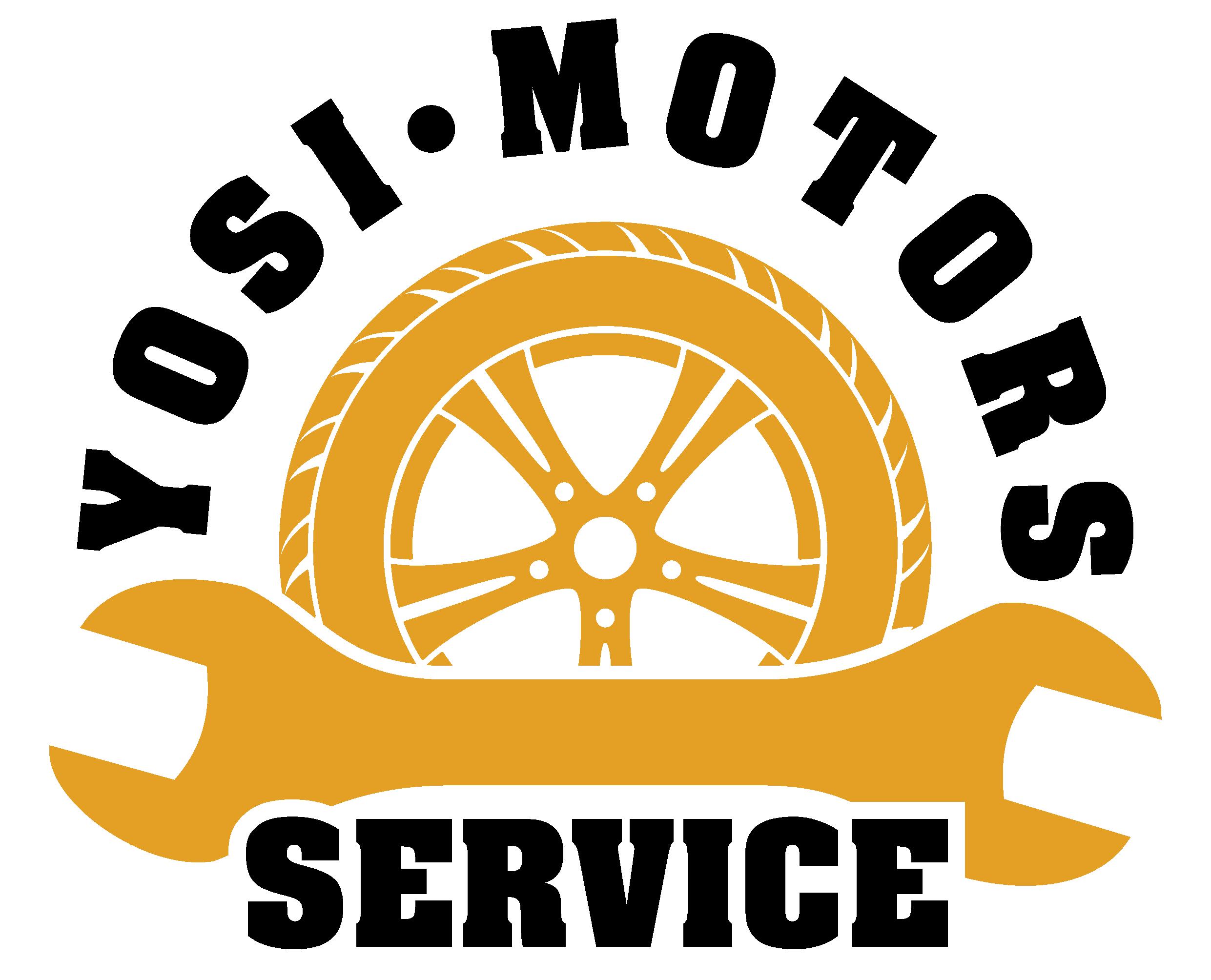 Логотип автосервис Yosi-Motors